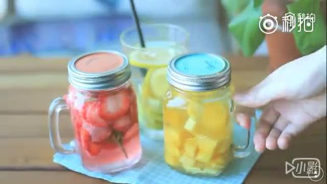 三款好喝又养颜的排毒水