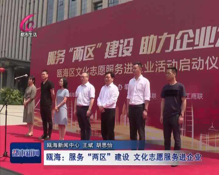瓯海:文化志愿服务进企