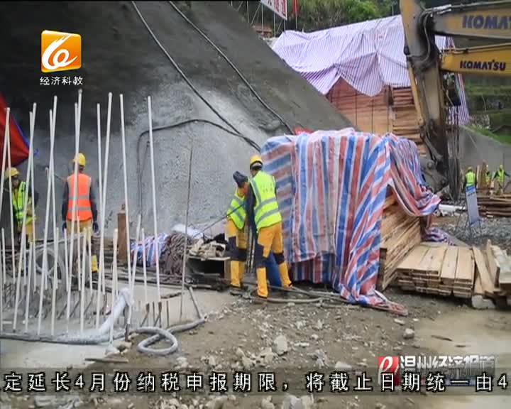 文景高速项目建设全力推进