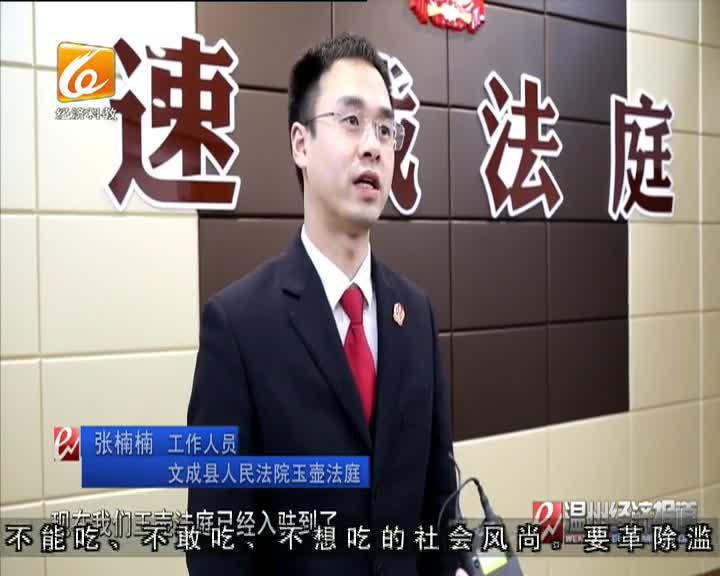 文成推动建立镇级矛调中心